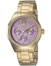 Reebok RC-CDD-L5-S2S2-Q2 - Reloj de cuarzo para mujer, correa de acero inoxidable chapado en oro color dorado