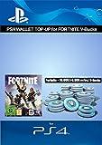 PSN credit for Fortnite - 10.000 V-Bucks + 3.500 extra V-Bucks - 13.500 V-Bucks DLC   PS4 Download Code - UK Account