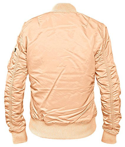 Alpha Industries Damen MA-1 TT Fliegerjacke Apricot