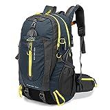 Lixada Borsa Zaino 40L Acqua Resistente Zaino Viaggio Escursione Trekking Campeggio Risalita Borse