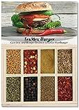 Feuer & Glas Tex Mex Burger, Receta para Hamburguesa Picante con Especias, 51 g