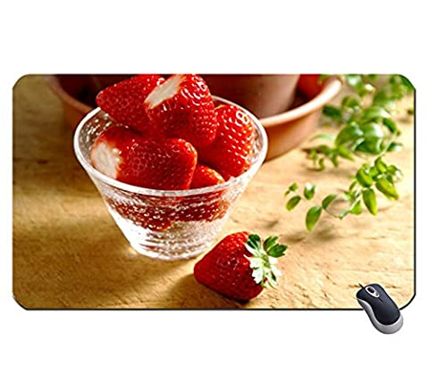 Sweet Strawberry 613105 Super Big Mousepad Maße: 23,6 x 13,8 x 0,2 (60 x 35 x 0,2) (Masse 60 Strawberry)