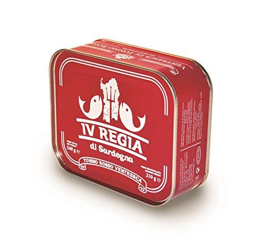 Ventresca di Tonno Rosso del Mediterraneo Kosher IV REGIA DI SARDEGNA in olio d'oliva 340g by SU TIANU SARDU