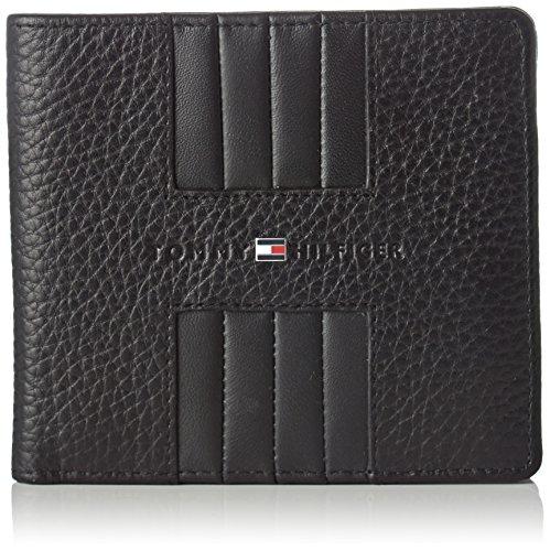 Tommy Hilfiger Heritage Cc Back Coin Zip - Portafogli Uomo, Nero (Black), 1x10x11 cm (B x H T)