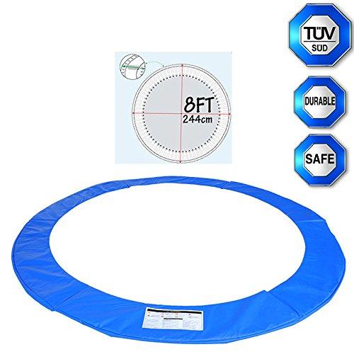Happyjoy Coussin de protection pour trampoline Coussin de Ressorts pour Trampoline -Diameter approx. 244 cm (8FT)