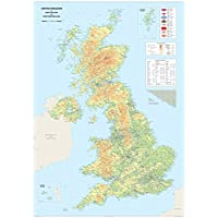 United Kingdom of Great Britain and Northern Ireland Map - A0 Size 84.1 x 118.9 cm