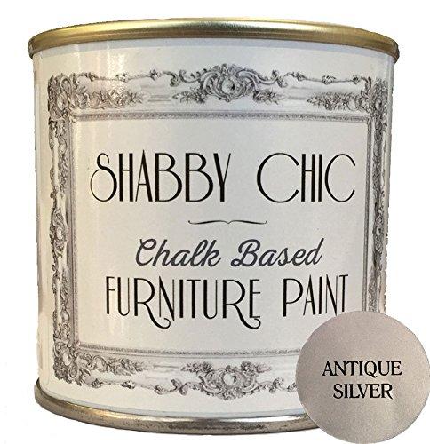 Plata antigua pintura de los muebles para crear un estilo shabby chic. 125 ml