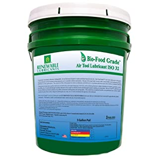 erneuerbaren Gleitmittel bio-food Grade ISO 32AIR TOOL Gleitmittel, 5Gallonen Eimer
