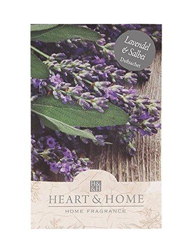 Heart & Home Duftsachet Lavendel & Salbei, 100 ml - Lavendel-salbei