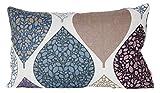 beties Momente Kissenhülle ca. 30x50 cm in interessanter Größenauswahl hochwertig & angenehm 100% Baumwolle Farbe (Hortensie)