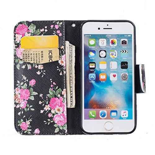 """iPhone 6s Coque, ONLY pour 4.7"""" iPhone 6 / iPhone 6S Housse - MYTHOLLOGY avec Support Housse PU Cuir Étui à rabat Portefeuille Antichoc Cover - DJZ HDH"""