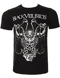 Black Veil Brides Demon Rises T Shirt (Black)