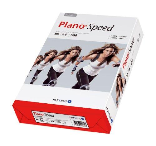 Papyrus Druckerpapier PLANO®Speed, DIN A4 , 80 g/qm, weiß, 500 Blatt -