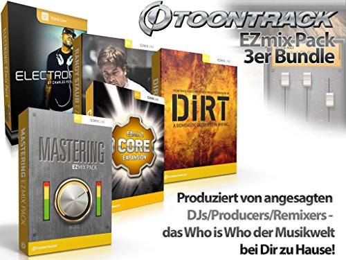 ToonTrack EZmix Pack Music and More Store 3er-Bundle (Download)