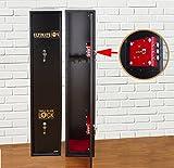 Ultimate Safe® Cassaforte Armadio Sicuro per 3 fucili, Armadio con Chiusura Triple Blade Lock®