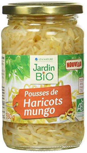 Jardin Bio Pousses de Haricots Mungo 330 g - Lot de 3