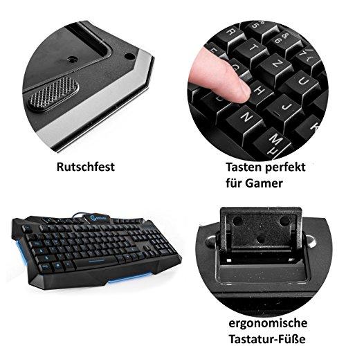 Gaming Tastatur und Maus Set (nicht mechanisch) - 4