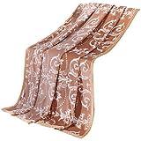 SUNNY KEY--Mantas para cama @ Franela Múltiples colores,Sólido Rayas 100% Poliéster mantas 200x230cm