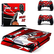 Hytech Plus NBA 2k18 Theme Sticker For PS4 Console & 2 Controllers