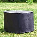 Housse / Bâche de protection ronde Ø 200 x 95 cm de qualité supérieure pour Ensemble de jardin Table ronde et chaises de jardin de Gartenpirat®