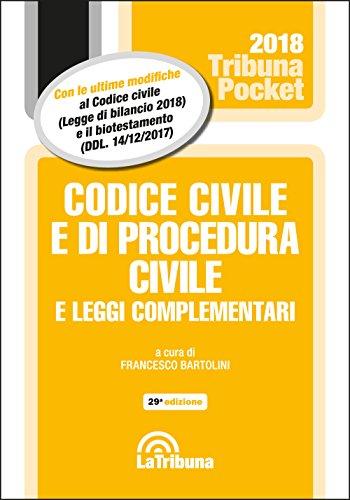 Codice civile e di procedura civile e leggi complementari - POCKET