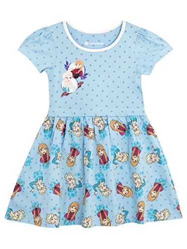 Disney Girls Frozen Dress Ages 18 Months to 10 Years