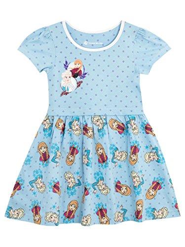 Disney Frozen - Die Eiskönigin Mädchen Frozen Kleid 110