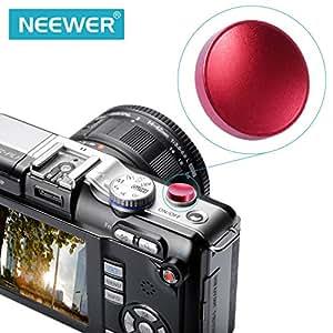 BestDealUK Red Convace Metal Soft Shutter Release Button For Fujifilm X100 Leica M6 M8 M9
