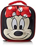 Disney Minnie Mouse Kinder Thermal 3D Schule Lunch Bag, 28 cm, Rot