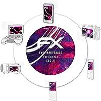 atFoliX protectora de vidrio de plástico película para Sanitas SBC 21 Película Vidrio - FX-