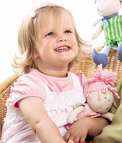 Haba 3951 - Schutzengel Tine, Weiche Stoffpuppe für Kinder von 0-5 Jahren zum Spielen und Kuscheln, Prima Geschenk zur Geburt, Taufe oder dem 1. Geburtstag 2