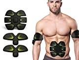 OSITO Wireless Electronic Muscle Toner Fitness System/Unisex Wireless Muscle Stimulation Body Toning System Silicone FIT Gear Training Fitness Body Fit For Arm / Abdomen / Thigh