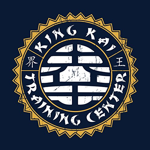 King Kai Training Center Dragon Ball Z Men's T-Shirt Navy Blue