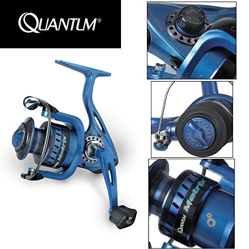 Quantum Metrix FD 740 Rolle, Angelrolle, Allroundrolle, Rollen für Forellen, Hecht, Zander, Barsch, Karpfen, Spinnrolle, Pilkrolle