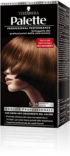 teinture pour les cheveux 5-24 marron glace