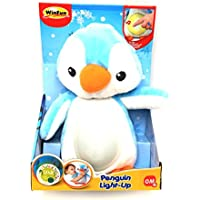 winfun- Amigo Pingüino con Canción de Cuna y Luces, Color Azul (CPA Toy Group 160)