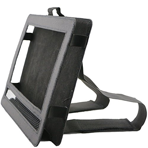 Ruisikiou Support lecteur DVD portable pour appui-tête de voiture avec sangle