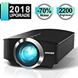 Best Led Projectors - Video Projector, GooDee 2200 lm Luminous Flux LED Review