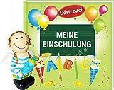 AV Andrea Verlag Album Meine Einschulung Gästebuch mit Spardose Engel Junge blau (Album Meine Einschulung 12636 + Spard