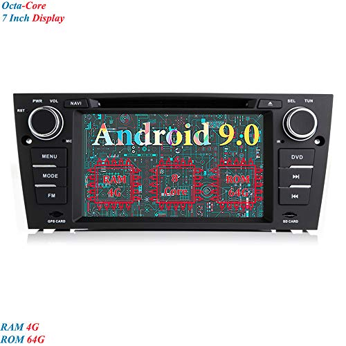 XISEDO Android 9.0 Autoradio 7 Pulgadas 8-Core RAM 4G ROM 64G GPS...