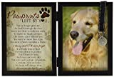 Il comfort Company Pawprints Memorial Pet tag Frame – Pawprints Left by you