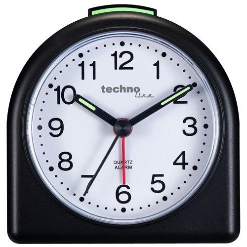 Technoline Geneva SD Negro - Despertador Analógica