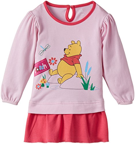 First Baby Girls' Winnie the Pooh Dress (FD839_Classic Pink_size-50)