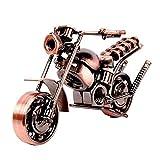 SwirlColor Eisen-Motorrad-Modell, Motorrad-Liebhaber-Geschenk für Kunst-Sammlung Oder Desktop-Dekoration(Art2)