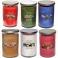 Set di 6 candele Yankee a doppio stoppino, in barattolo portacandele grande, edizione ufficiale limitata e rara della gamma World Journeys
