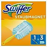 Swiffer Staubmagnet Set 1Griff plus 3Ersatztücher, 1er Pack (1 x 1 Stück) -