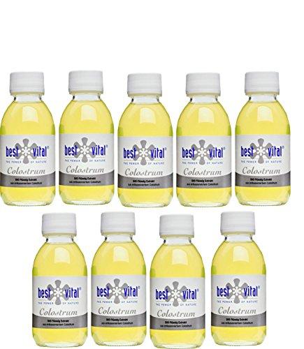 Bio-Colostrum direct bestellen von best vital Extrakt 125ml, Immunabwehr (9 x 125 ml)