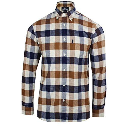 aquascutum-marcus-large-club-checked-shirt-vicuna-xl
