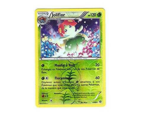 Carte Pokémon 4/98 JOLIFLOR HOLO REVERSE - Série XY Origines Antiques XY7 - NEUVE FRANCAISE