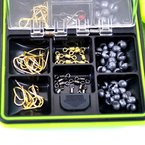 THKFISH Fishing Tackle Box Utility Box Haken Wirbels Angel-Zubehör-Box - 2